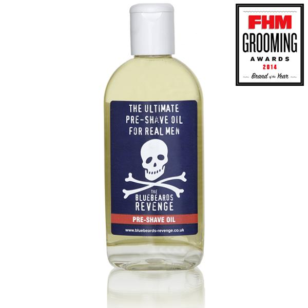 Pre-Shave Oil Barzdos aliejus prieš skutimąsi, 125ml