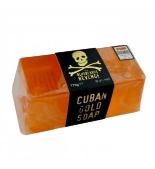 The Bluebeards Revenge Cuban Gold Soap Kubietiškas auksinis muilas, 175g | inbeauty.lt