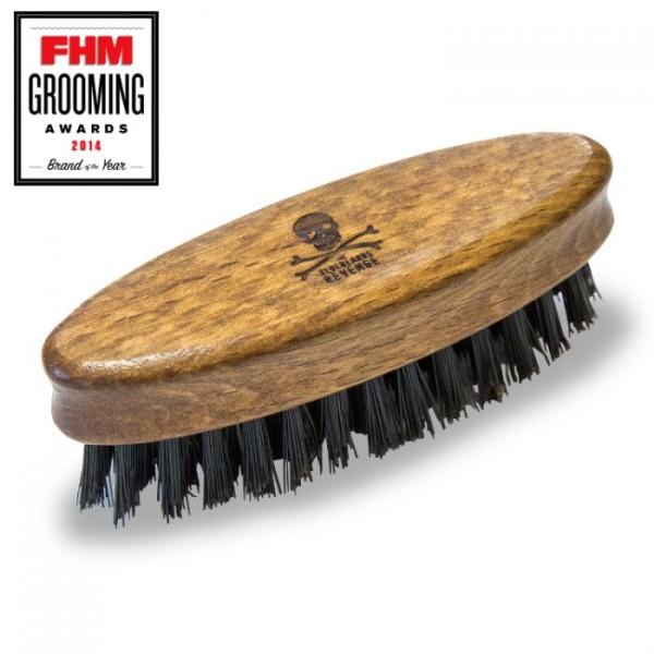 Travel Beard Brush Kišeninis barzdos šepetys, 1 vnt.