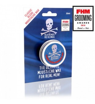 The Bluebeards Revenge Classic Blend Moustache Wax Klasikinis ūsų vaškas, 20ml | inbeauty.lt