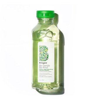 Be Gentle, Be Kind Matcha+Apple Replenishing Shampoo Stiprinamasis šampūnas, 369ml