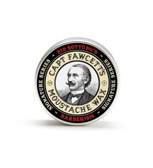 Captain Fawcett Barberism Moustache Wax Ūsų vaškas, 15ml | inbeauty.lt
