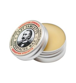 Captain Fawcett Expedition Strengh Sandalwood Moustache Wax Ūsų vaškas, 15ml | inbeauty.lt