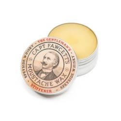Gentleman's Stiffener Malt Whiskey Moustache Wax Ūsų vaškas, 15ml
