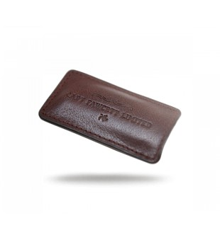 Captain Fawcett Leather Case for Folding Pocket Moustache Comb Odinis dėklas ūsų šukoms, 1vnt. | inbeauty.lt
