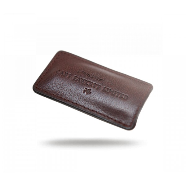 Leather Case for Folding Pocket Moustache Comb Odinis dėklas ūsų šukoms, 1vnt.