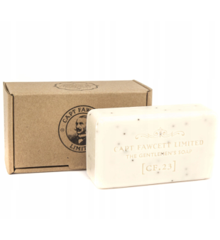 Captain Fawcett The Gentlemen's Soap Muilas su aguonų sėklomis, 165g | inbeauty.lt