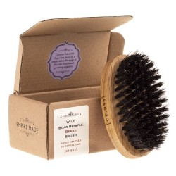 Wild Boar Bristle Beard Brush Barzdos šepetys, 1vnt