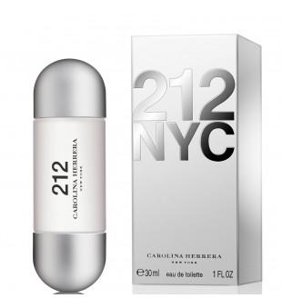 Carolina Herrera 212 NYC Eau de Toilette Tualetinis vanduo moterims, 30ml | inbeauty.lt