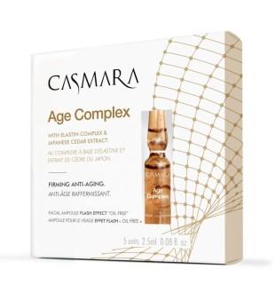 Casmara Age Complex Firming Anti-Aging Ampoules Ampulės amžiaus paveiktai odai, 5x2,5ml | inbeauty.lt