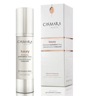 Casmara Luxury Revitalizing Moisturizing Cream Prabangus drėkinamasis veido kremas, 50ml | inbeauty.lt