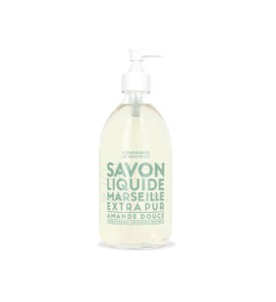 Compagnie de Provence Sweet Almond Liquid Marseille Soap Skystas muilas, 495ml   inbeauty.lt