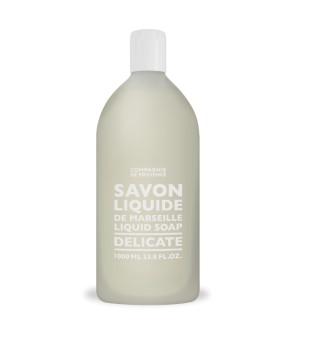 Compagnie de Provence Delicate Liquid Marseille Soap Refill Skysto muilo papildymas, 1000ml   inbeauty.lt