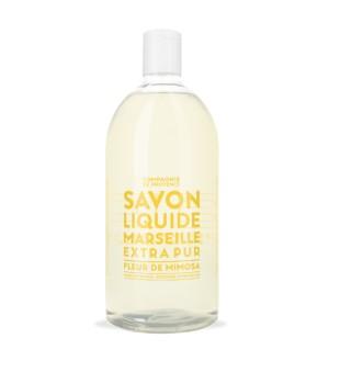 Compagnie de Provence Mimosa Flower Liquid Marseille Soap Refill Skysto muilo papildymas, 1000ml   inbeauty.lt