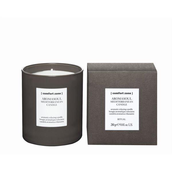 AROMASOUL MEDITERRANEAN CANDLE – viduržemio jūros kvapo žvakė, 280 g