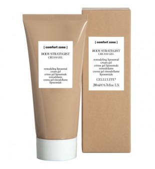 Comfort zone Body Strategist Cream Gel Anticeliulitinis liposominis kūno kremas-gelis, 200 ml | inbeauty.lt