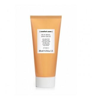 Comfort zone Sun Soul Body Cream Aftersun Drėgmę atstatantis kūno kremas po saulės, 200 ml | inbeauty.lt