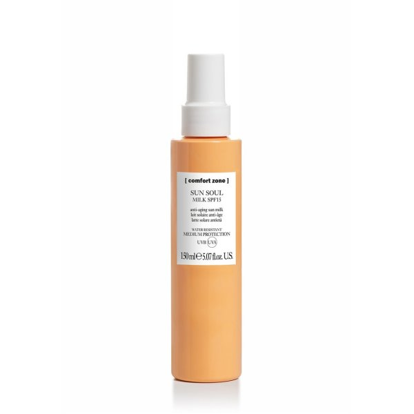 SUN SOUL MILK SPF15 – apsauginis odos pienelis nuo saulės SPF15, 150 ml
