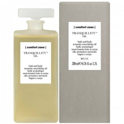 TRANQUILLITY BATH AND BODY OIL - raminantis vonios ir kūno aliejus, 200 ml