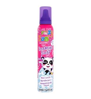 Crazy Kids Stuff Foaming Soap Pink Vonios putos (rožinės), 225ml | inbeauty.lt