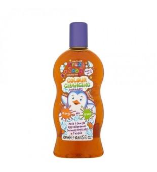 Crazy Kids Stuff Colour Changing Bubble Bath Orange Spalvą keičiančios vonios putos, 300ml | inbeauty.lt