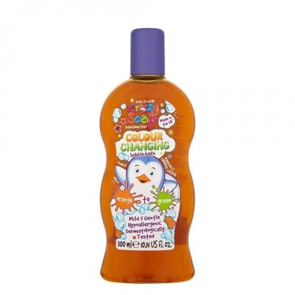 Colour Changing Bubble Bath Orange Spalvą keičiančios vonios putos, 300ml
