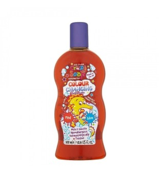Crazy Kids Stuff Colour Changing Bubble Bath Red Spalvą keičiančios vonios putos, 300ml | inbeauty.lt