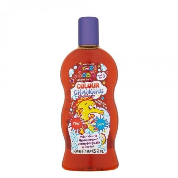 Colour Changing Bubble Bath Red Spalvą keičiančios vonios putos, 300ml