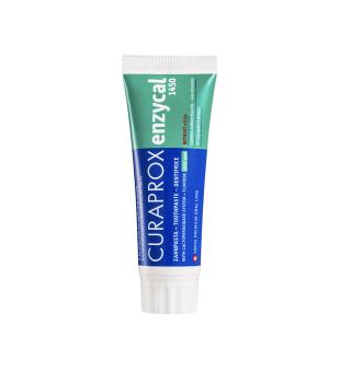 Curaprox Enzycal 1450ppm Toothpaste Dantų pasta ėduonies profilaktikai, 75ml | inbeauty.lt