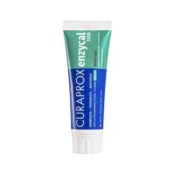 Enzycal 1450ppm Toothpaste Dantų pasta ėduonies profilaktikai, 75ml