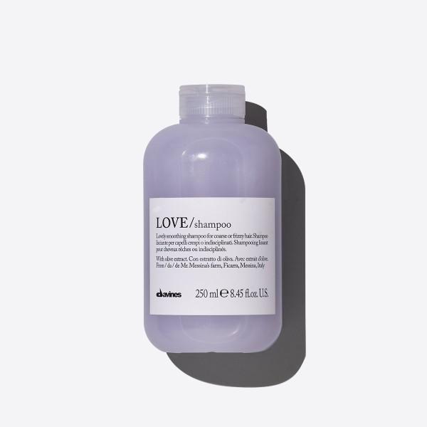 LOVE Smoothing šampūnas tiesiems plaukams, 250 ml