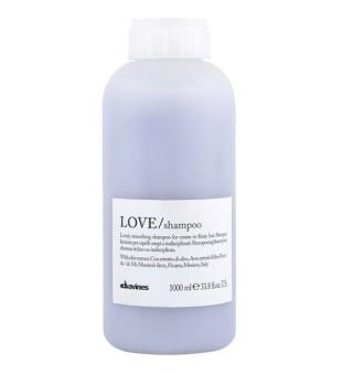 Davines LOVE Smoothing šampūnas tiesiems plaukams, 1000 ml | inbeauty.lt