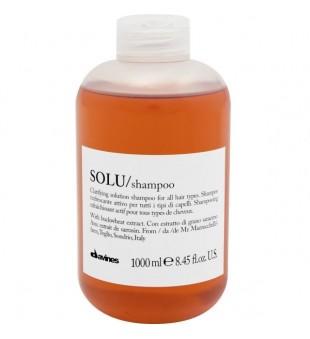 Davines SOLU giliai valantis šampūnas, 1000 ml | inbeauty.lt