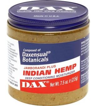 DAX Indian Hemp Deep Conditioning Moisturizer Drėkinamoji priemonė plaukams, 213g | inbeauty.lt