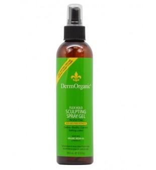 DermOrganic Flex Hold Sculpting Spray Gel Plaukų formavimo purškiklis, 250ml | inbeauty.lt