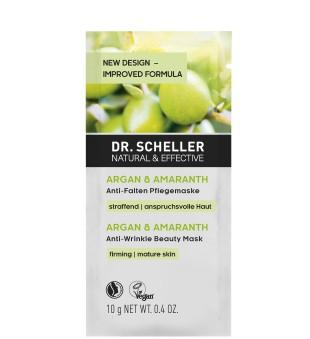 Dr Scheller  Argan & Amaranth Anti-Wrinkle Beauty Mask Veido kaukė brandžiai odai, 10ml | inbeauty.lt