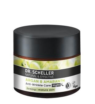Dr Scheller  Argan & Amaranth Anti-Wrinkle Care Night Naktinis veido kremas nuo raukšlių, 50ml | inbeauty.lt