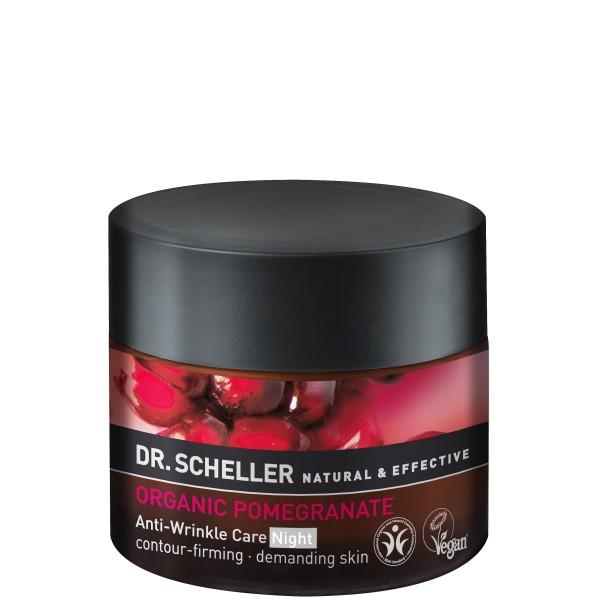 Organic Pomegranate Anti-Wrinkle Care Night Naktinis veido kremas nuo raukšlių, 50ml