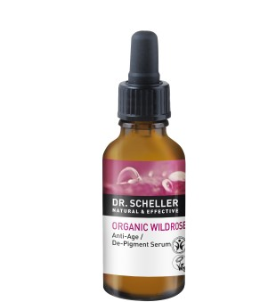 Dr Scheller  Organic Wild Rose Anti-Age De-Pigment Serum Veido serumas nuo pigmentinių dėmių, 30ml | inbeauty.lt