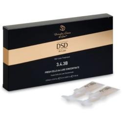 Fresh Cells De Luxe Concentrate Koncentratas nuo plaukų slinkimo DSD3.4.3B, 10 ml