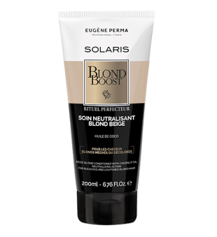Eugene Perma Blond Boost Neutralizing Conditioner Blond Beige Kondicionierius smėlio blondinėms, 200ml | inbeauty.lt