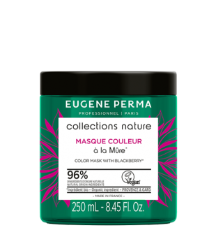Eugene Perma Color Mask With Blackberry Kaukė dažytiems plaukams, 250ml | inbeauty.lt