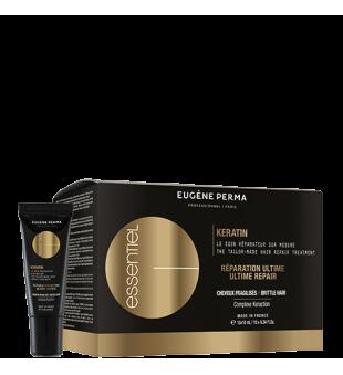 Eugene Perma Keratin Tailor-Made Hair Repair Treatment Keratino kapsulės, 10x10ml | inbeauty.lt