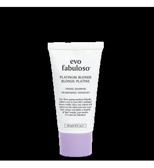 evo Fabuloso Platinum Blonde Toning Shampoo Tonavimo šampūnas, 30ml | inbeauty.lt