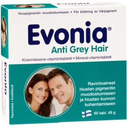 Evonia Anti Grey Hair, 60 kaps.