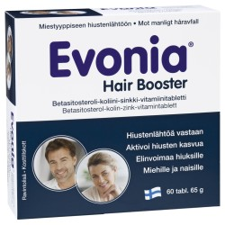 Evonia Hair Booster, 60 tab.