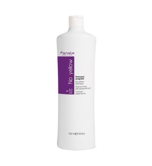 Fanola No Yellow Shampoo Geltonus atspalvius neutralizuojantis šampūnas, 1000ml   inbeauty.lt