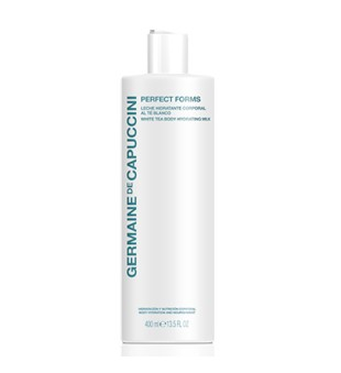 Germaine de Capuccini Perfect Forms White Tea Body Hydrating Milk Drėkiantis kūno pienelis, 400ml | inbeauty.lt