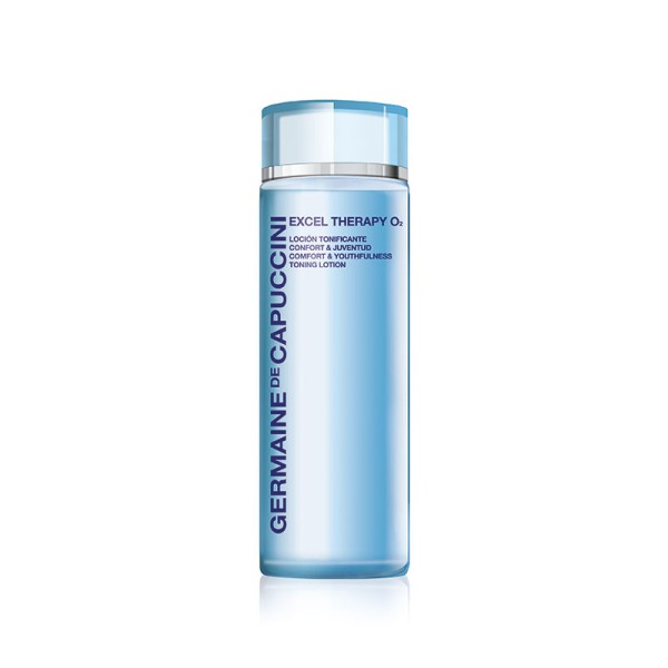 Excel Therapy O2 Comfort & Youthfulness Toning Lotion Veido losjonas su deguonimi, 200ml