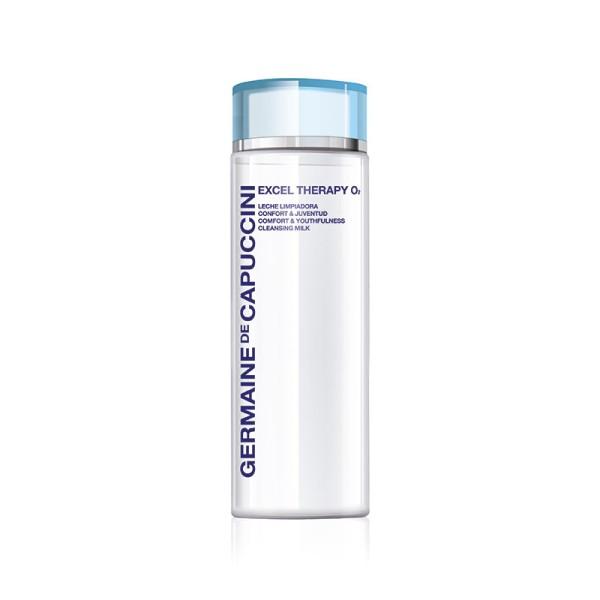 Excel Therapy O2 Comfort & Youthfulness Cleansing Milk Veido pienelis su deguonimi, 200ml